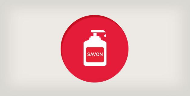 Icône Savon liquide