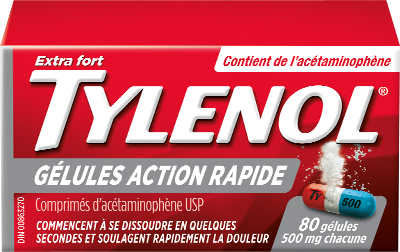 TYLENOL® Gélules Action Rapide