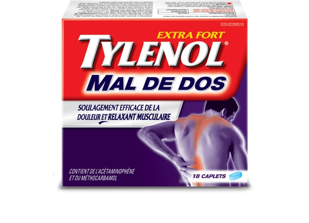 Extra Fort TYLENOL® Mal De Dos