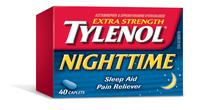 TYLENOL® NUIT Extra fort