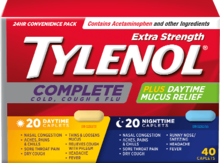 TYLENOL® Complet Rhume, toux et grippe