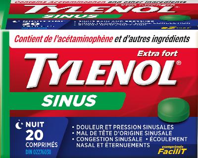 Extra Fort TYLENOL® Sinus Jour et Nuit