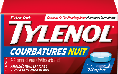 Extra Fort TYLENOL® Courbatures Nuit
