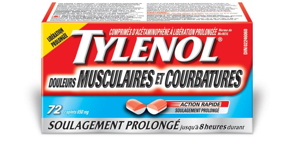 tylenol douleurs musculaires et courbatures tylenol. Black Bedroom Furniture Sets. Home Design Ideas