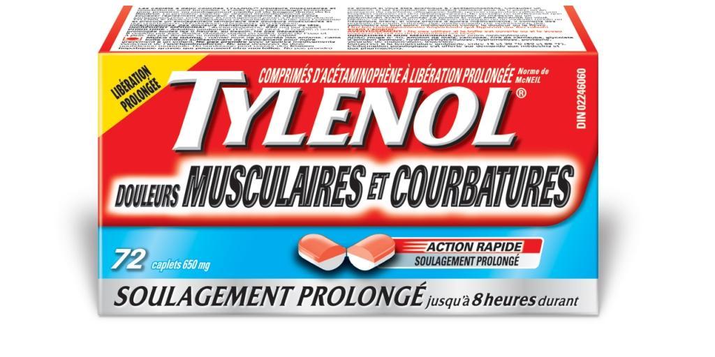 TYLENOL® Douleurs Musculaires Et Courbatures