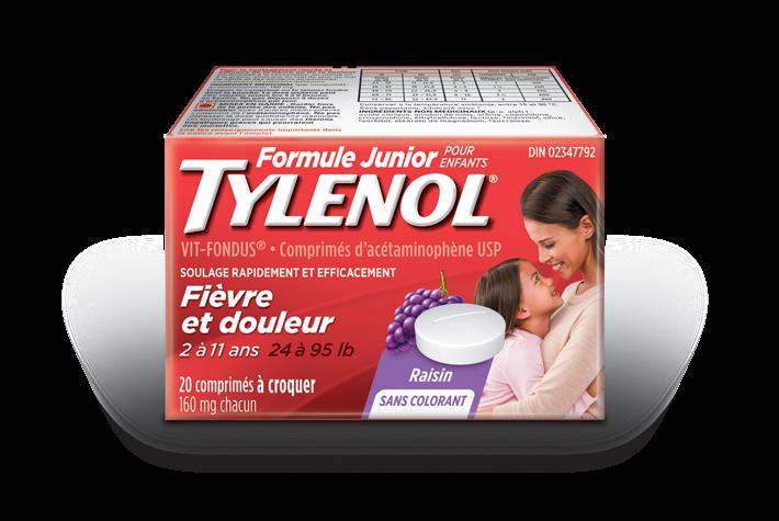 TYLENOL® VIT-FONDU pour enfants plus âgés