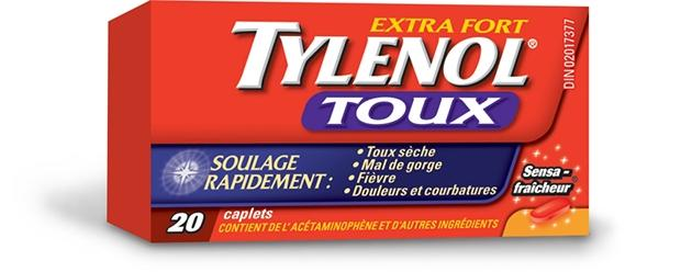 Extra Fort TYLENOL® Toux