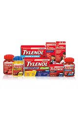 Divers produits Tylenol