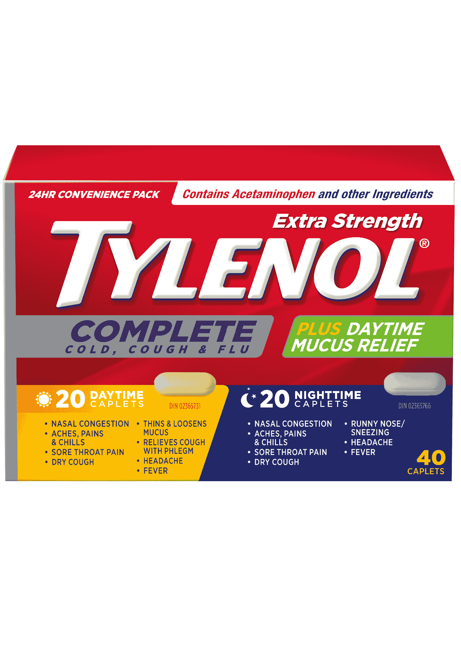 TYLENOL® Complete Cold, Cough & Flu