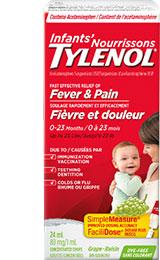 Produit TYLENOL® pour nourrissons